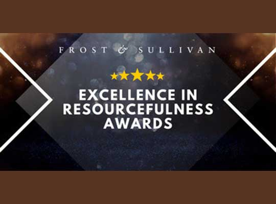 Frost & Sullivan Itron Excellence Awards