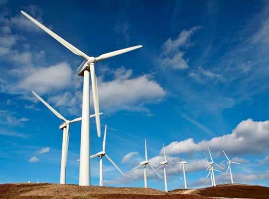 wind power energy turbine sunshine