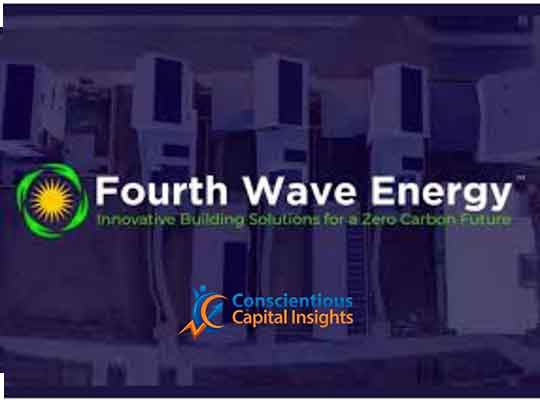 Fourth Wave Energy Inc. Signs Agreement with Third Party Investor for $10 Million