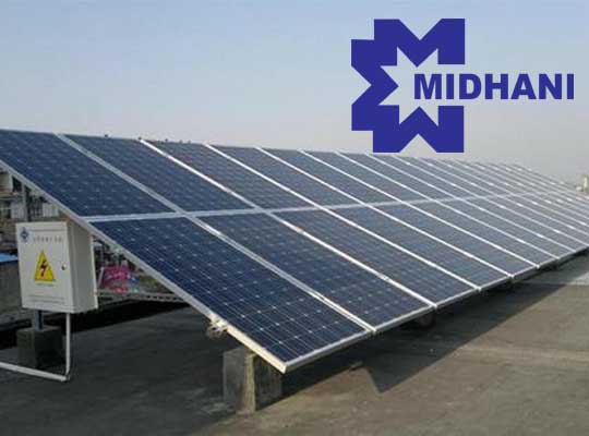 Roof Top Model Solar Plant