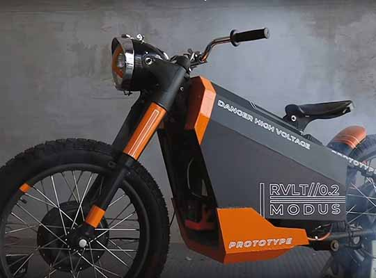 ALYI Electric Motorcycle